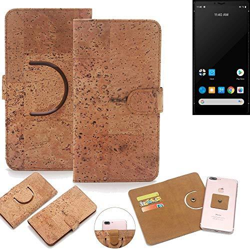 K-S-Trade® Handy Schutz Hülle Für Carbon 1 MKII Korkhülle 1x