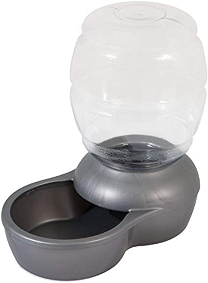 Petmate Replendish Gravity Waterer w/ Microban   Amazon
