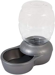 PETMATE Replendish Gravity Waterer c/Microban, Pearl Silver Grey, 4 GAL