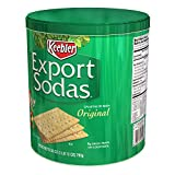 Keebler, Export Sodas, Crackers, Original, 28oz Can