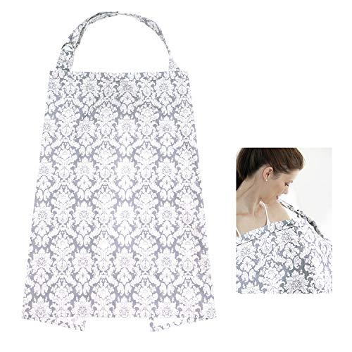 HBselect Stilltuch Stillschal Stilltuch Nursing Cover Stillabdeckungen für Mütter aus hochwertigem Stoff mit Tasche