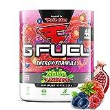 G Fuel Sour FaZeberry (40 porciones) Elite Energy and Endurance Formula 9.8 oz.