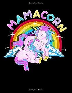 Mamacorn: Mamacorn Cute Unicorn Mom Unicorn Loving Mama 2020-2024 Five Year Planner & Gratitude Journal - 5 Years Monthly ...