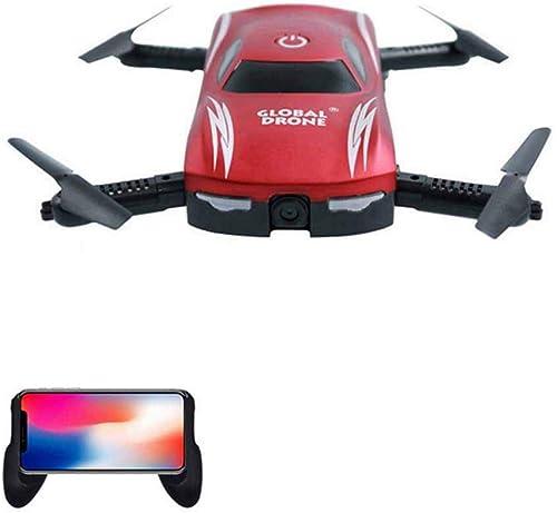YUN Drone@ Drohne mit FPV-Kamera für Anf er Erwachsene und Kinder HD-Live-Video, RC-Quadcopter mit H nlage, One Key Return, Headless-Modus, One-Key-Start Landing und 3D-Flips