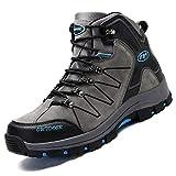 Ikeyo Zapatos de Senderismo para Hombre Impermeables Botas de montaña Zapatos de...