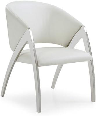Limari Home Amaris Accent Chair, White