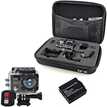 """$46 » Meipeacock Ultra HD 4K WiFi Camera Camcorder Dual Screen 2"""" LCD Underwater 30m Waterproof Sport Action Camera with Remote Control"""