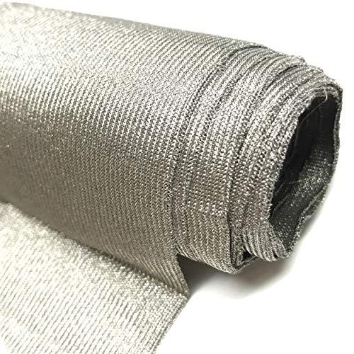 emf shielding fabrics Cyber Faraday Fabric RFID Shielding Silver Fabric Roll 62