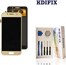 KDIFIX for Samsung Galaxy A3 2017 A320 LCD Touch Screen Assembly with Full Professional Repair Tools kit (Golden)
