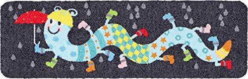 Salonloewe Tausendstiefler Fußmatte 030x100 cm Schmutzfangmatte waschbar SLD1742-030x100