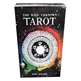 LHJY Wild-Unknown Tarot Cards Deck Brettspiel, Mysterious Totem Tarot Deck, Adults Cards Game Guidance Entertainment