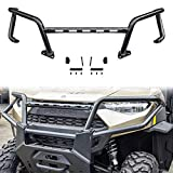 UTV Front Bumper, SAUTVS Upper Front Brush Guard Bumper Protector for Polaris Ranger XP 1000 Crew Diesel 2018-2021 Accessories, Replace #2882531
