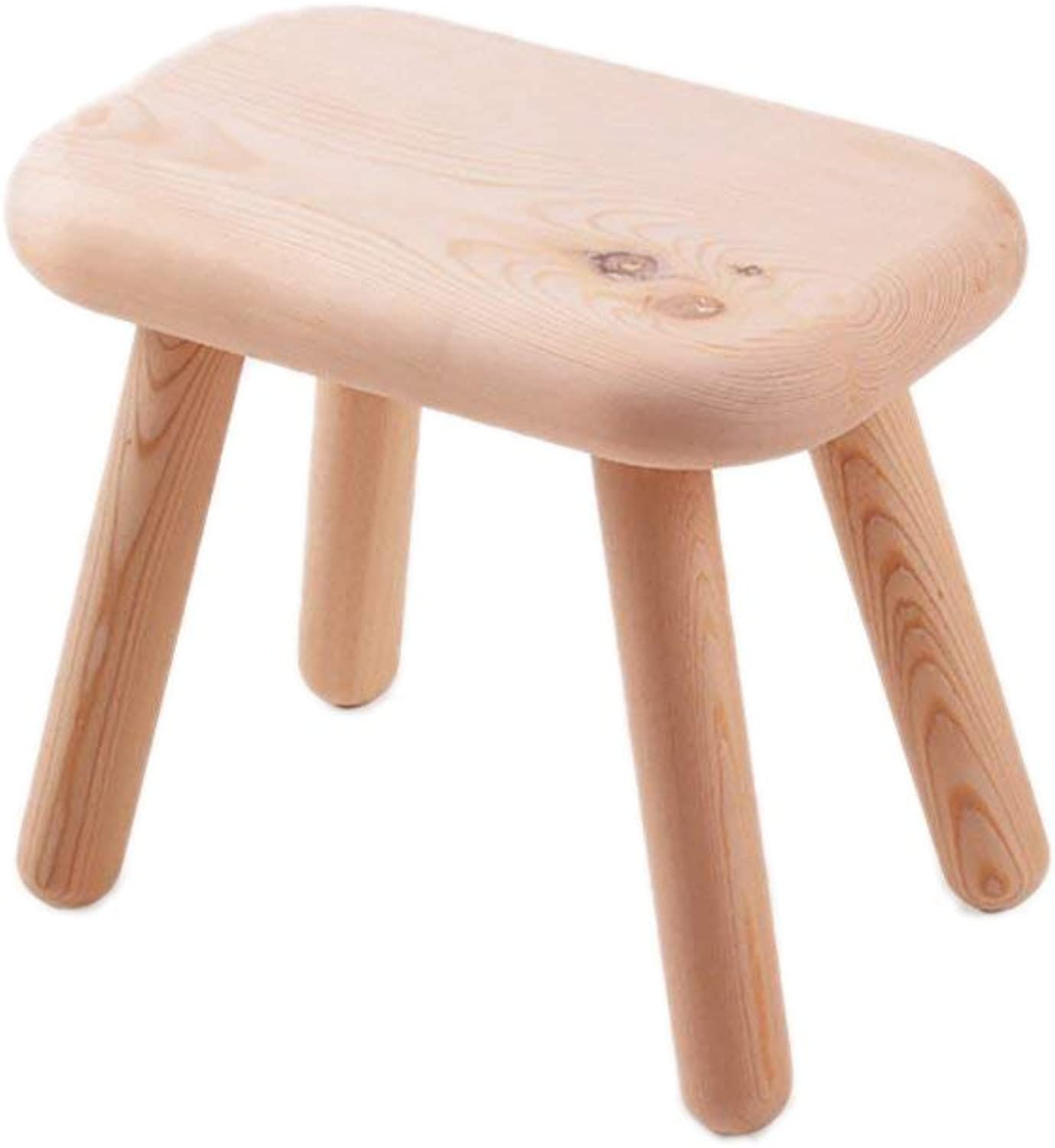 Stool Chair Stool Pine shoes Bench Solid Wood Stool Stool Small Stool Home Coffee Table Pier Stool
