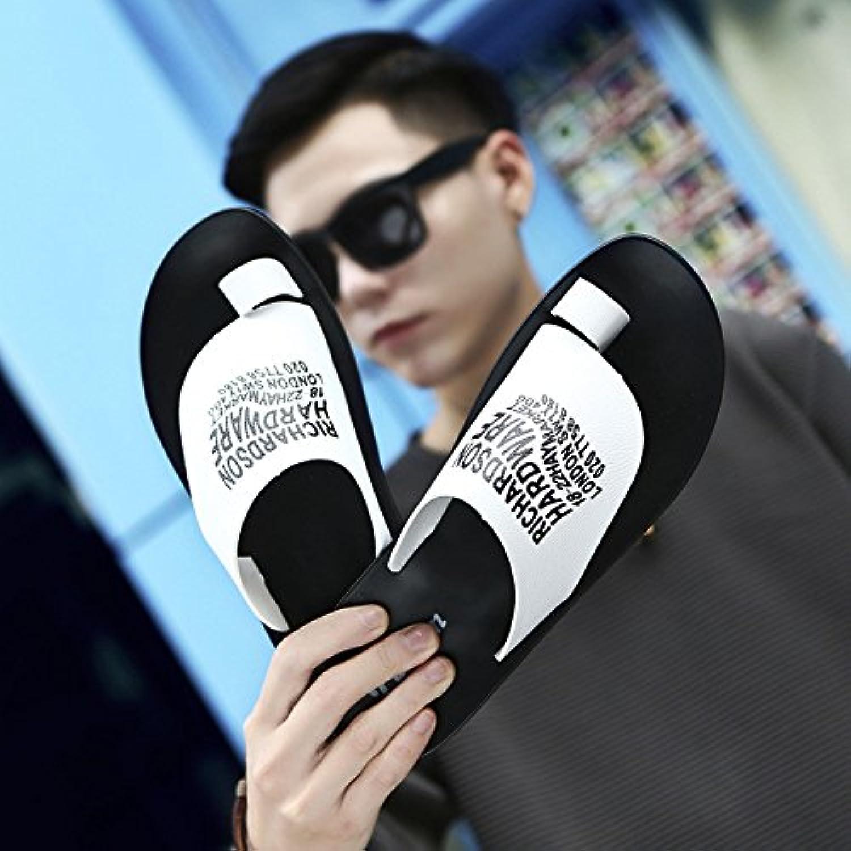 AIHUWAI Sandals Men'S Sandals Summer Men'S Slipper Jokers Teddy Sandals People Slip Outdoor Flip Flops