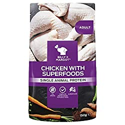 With more of the texture and flavour of real meat or poultry, our grain-free wet dog food is an ideal way to enhance your dog's nutrition and add an extra level of enjoyment. Holistic ingredients - Packed with quality protein as well as superfoods, e...