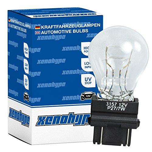 2x P27/7W XENOHYPE Premium W2,5x16q 12 Volt 27/7 Watt US Typ 3157