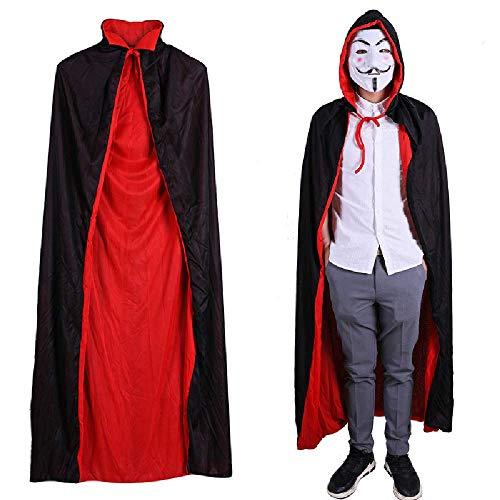 COOGG Vrouwen Vampier Halloween Cosplay Kostuums Dames Blouse Broek Mesh Mantel