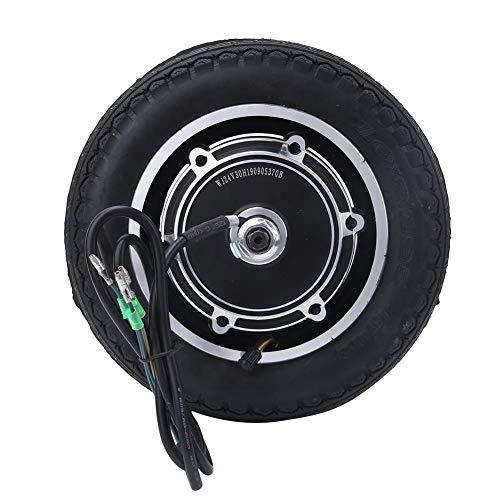 Alomejor 350W Elektroroller Nabenmotor Reifen 10 Zoll Elektrofahrrad Radnabe Lager Reifen Ersatz für E-Bike