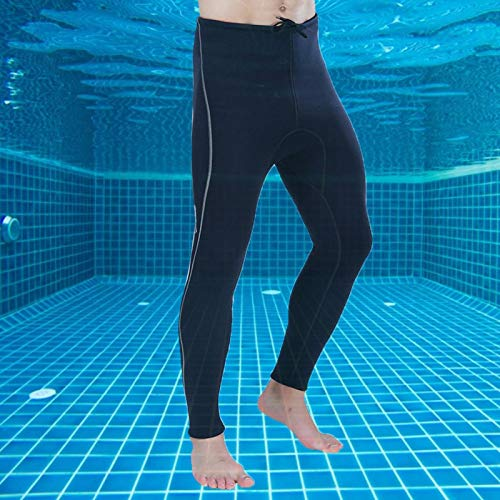 Eulbevoli Pantalones de Buceo Mano de Obra Exquisita Cómodo 3MM Práctico para Nadar(XXL)