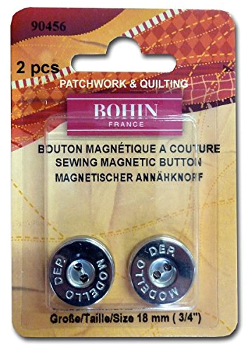Magnetic Sew On Button 3/4