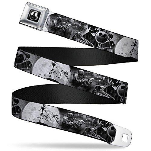 Buckle-Down Seatbelt Belt Nightmare Before Christmas XL