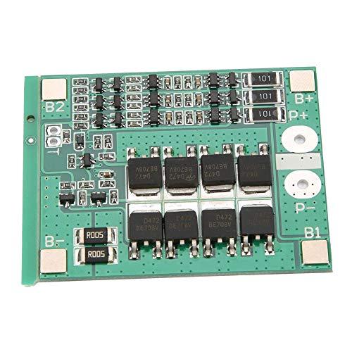 Placa de Protección del Cargador de Batería de Litio de Litio 3S 12V 25A Batería de Almacenamiento Tablero del Módulo de Control de Carga Digital