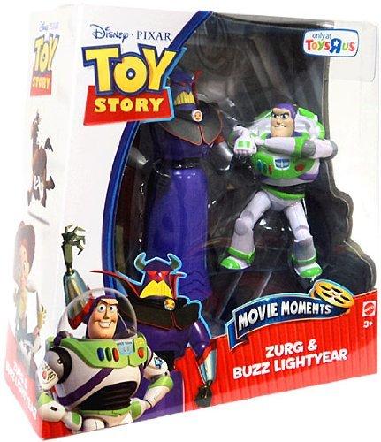 Toy Story Movie Moments - Confezione da 2 personaggi di base - Zurg e Buzz Lightyear