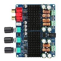 オーディオアンプボード、2.1チャンネルサブウーファーアンプボード2.1アンプボードパワーアンプボード、ホームスピーカー用