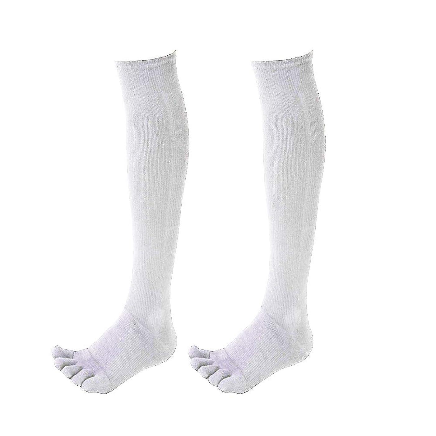 夜間神の軍隊【2足組】5本指 野球 カラーソックス ストッキング 靴下 ブラック ネイビー レッド ホワイト