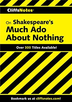 CliffsNotes on Shakespeare's Much Ado About Nothing (Cliffsnotes Literature Guides) by [Richard O Peterson]