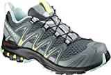 Salomon XA Pro 3D W, Zapatillas de Trail Running para Mujer, Gris (Stormy Weather/Lead/Eggshell Blue), 39 1/3 EU