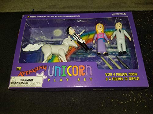 Accoutrements Avenging Unicorn Playset