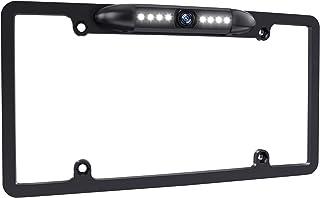 $28 » License Plate Backup Camera Night Vision Rear View Camera 170 Degree Viewing Angle,with 8 Bright LEDs Waterproof High Sens...