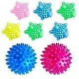 TANCUDER 8 PCS Balles de Séchage,Boule de Lavage Colorée Réutilisable Boule à Linge Écologique...