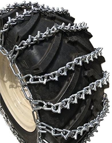 Check Out This TireChain.com 23 X 10.50 X 12 V-BAR Tire Chains w/Spring Tensioners