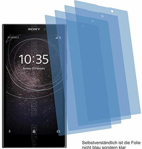 4ProTec I 4X ANTIREFLEX matt Schutzfolie für Sony Xperia L2 Bildschirmschutzfolie Displayschutzfolie Schutzhülle Bildschirmschutz Bildschirmfolie Folie