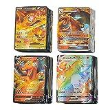 KSHYE 100pcs Cartes Pok français GX Ex V vmax Tapeur Trainer Jeux de Cartes Jeux Enfants Jouet (Color : (100GX) French)