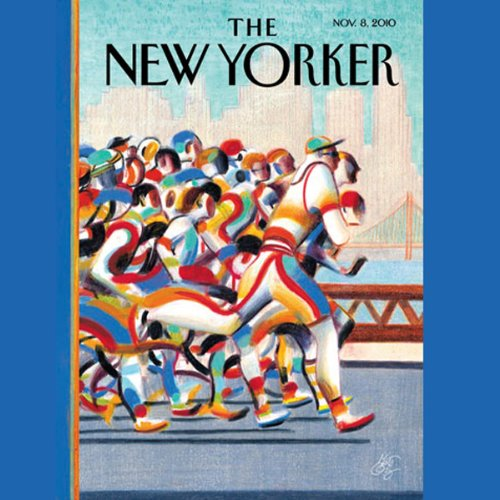 The New Yorker, November 8th 2010 (Hilton Als, Jennifer Kahn, Steven Shapin) cover art
