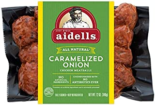 Aidells Chicken Meatballs, Caramelized Onion, 12 oz. (Fully Cooked)