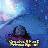 Winter Tunnel Bett Zelt Kinderzimmer Dekoration Wonderland Kinderbett Hochbett Kid's bettzelt für Babybett