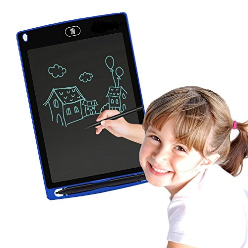 Corelink LCD Writing Tablet 8.5-Inch Digital Drawing Pad Paperless Note Board Portable Durable Doodle Whiteboard for Kids and Adult (Blue)