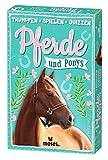 Moses 90270 Trumpfspielen Quizzen Pferde und Ponys | Juego de Cartas para niños a Partir de 8 años