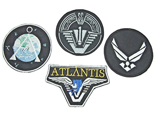 Stargate SG-1 Uniform/Costume Cosplay Set of 4 Patches