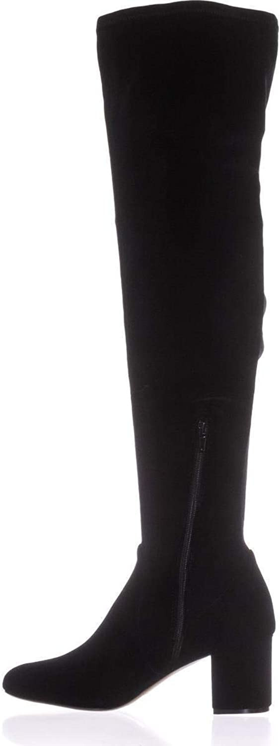 INC International Concepts Womens Rikkie Closed Toe Knee High, Black, Size 9.0