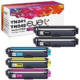 ejet Cartuchos de Tóner Compatibles TN241 TN245 para Brother TN-241 TN-245 TN-242 TN-246 para Brother DCP-9020CDW DCP-9015CDW HL-3140CW HL-3150CDW HL-3170CDW MFC-9330CDW MFC-9140CDN MFC-9340CDW