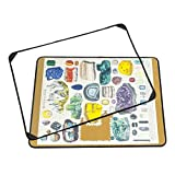 Jigsaw Puzzle Board Portable Puzzle Mat Puzzle Saver Dust-Proof Cover for Easy Storage, Non-Slip Surface Holds Up to 1000 Pieces