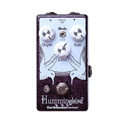 EarthQuaker Devices Hummingbird V4 Tremolo, Limited Edition Purple Sparkle