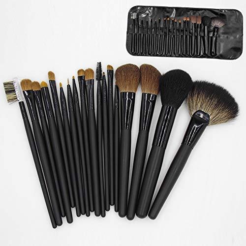 Brosse Ombre De Maquillage De Brosse Outils Professionnels De Beauté Artiste Maquillage Des Yeux Portable Brosse Lâche Contour Brosse En Poudre 18 Pcs