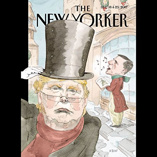The New Yorker, December 18th and 25th 2017: Part 1 (Nathan Heller, Jiayang Fan, Zoë Heller)                   By:                                                                                                                                 Nathan Heller,                                                                                        Jiayang Fan,                                                                                        Zoë Heller                               Narrated by:                                                                                                                                 Jaime Renell                      Length: 2 hrs and 11 mins     3 ratings     Overall 3.3