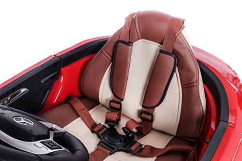 RC Auto kaufen Kinderauto Bild 4: Mercedes CLA 45 AMG Elektroauto Kinderelektroauto Elektrofahrzeug. Farbe: Rot*